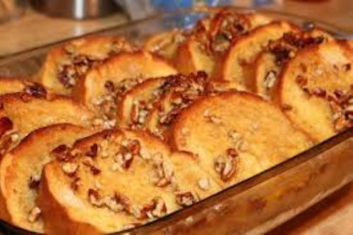 Praline French Toast Casserole