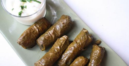 Stuffed Grape Leaves (aka Dolma)