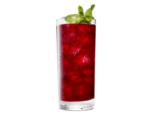 Blackberry-Bourbon Iced Tea