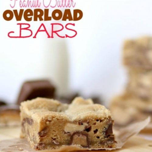 Peanut Butter Overload Bars