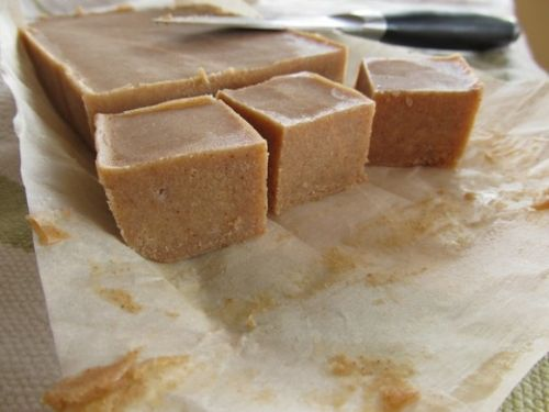 Paleo Almond Butter Banana Fudge