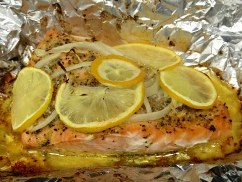 Baked Salmon 4HB