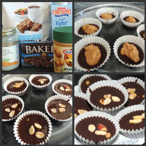 Healthy Reese Peanut Butter Cups