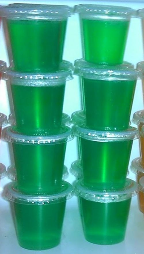 Melon Rita Jello Shots