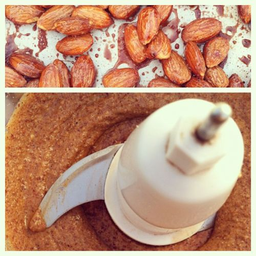 Homemade Roasted Maple Cinnamon Almond Butter