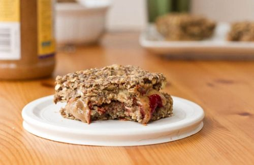 On The Go Basic Oatmeal Squares
