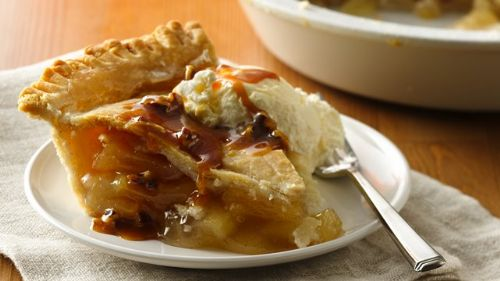 GF Caramel Apple Pie