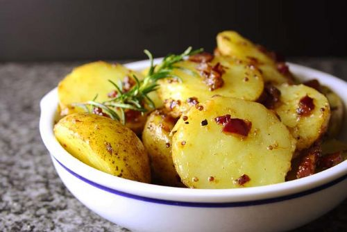 Warm Potato Salad with Brown Butter Dressing