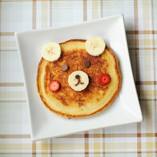 Chocolate Chip Bear Pancakes
