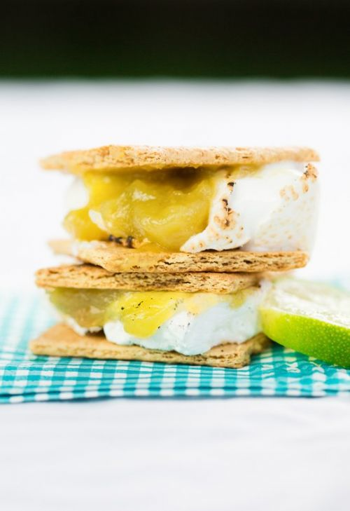 Key Lime Pie Smores