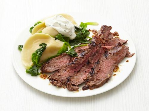 Steak - Steak and Pierogi