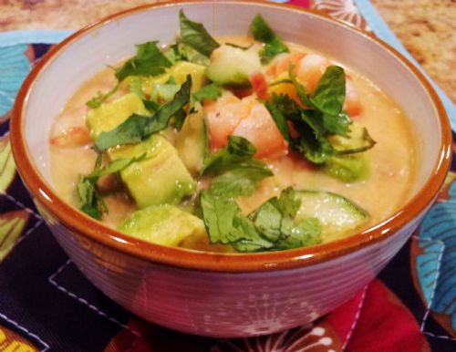Curried Coconut Gazpacho