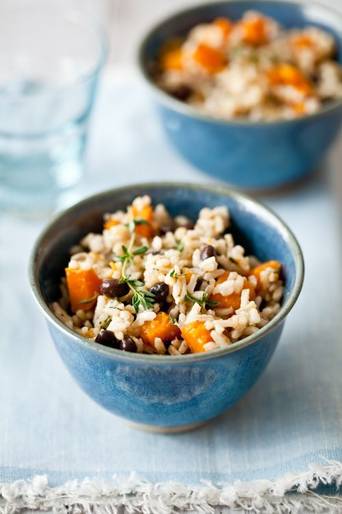 Butternut Squash and Coconut Milk Rice