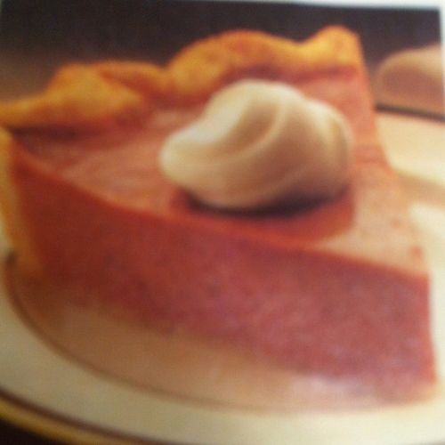 PIE - Pumpkin Pie, Traditional