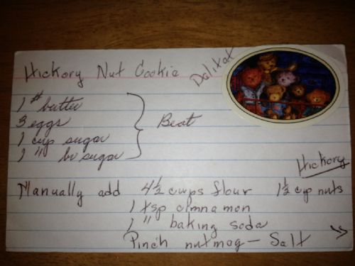 Hickory Nut Cookie