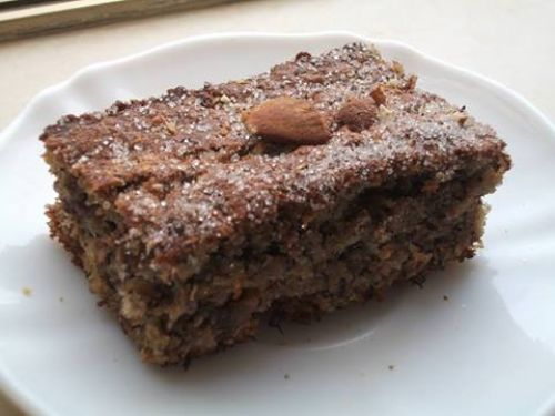 Healthy Banana,Almond & Oat Cake