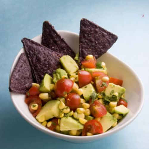 Avocado, Corn & Cherry Tomato Salsa