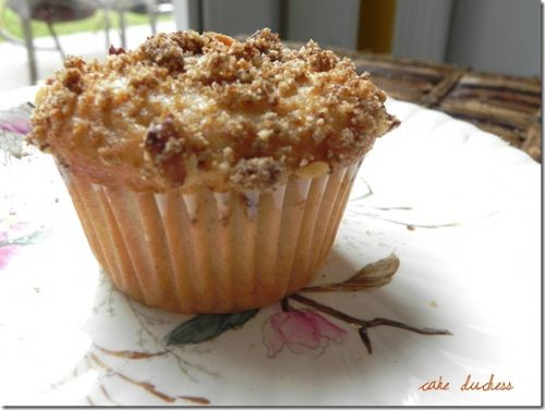 Streusel Topped Plum Muffins