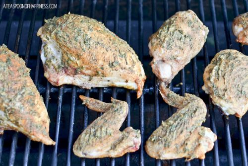 Grilled Herb and Mustard Chicken