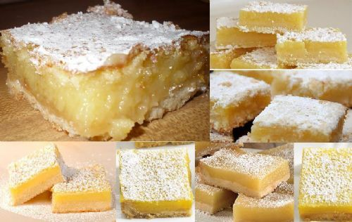 Lemon Bars Deluxe