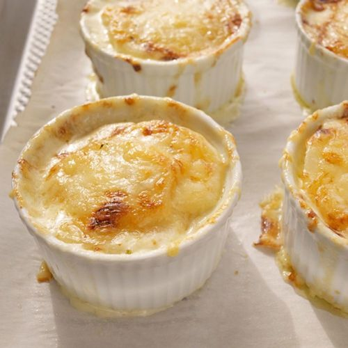 Individual Herbed Potato Gratins with Gruyère