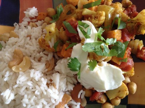 Veggies- Fall Vegetable Curry