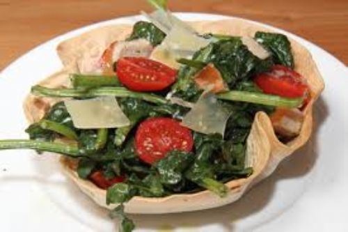 Spinach Salad Bowl