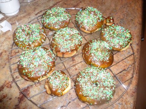 Eggless Baked Donuts/ Doughnuts