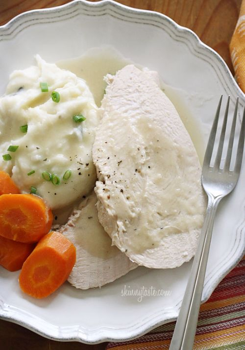 Slow Cooker Turkey or Chicken and Gravy