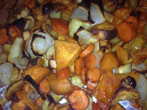Veggies- Honey-Roasted Root