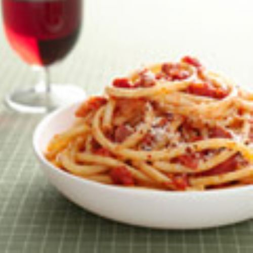 Perciatelli all'Amatriciana