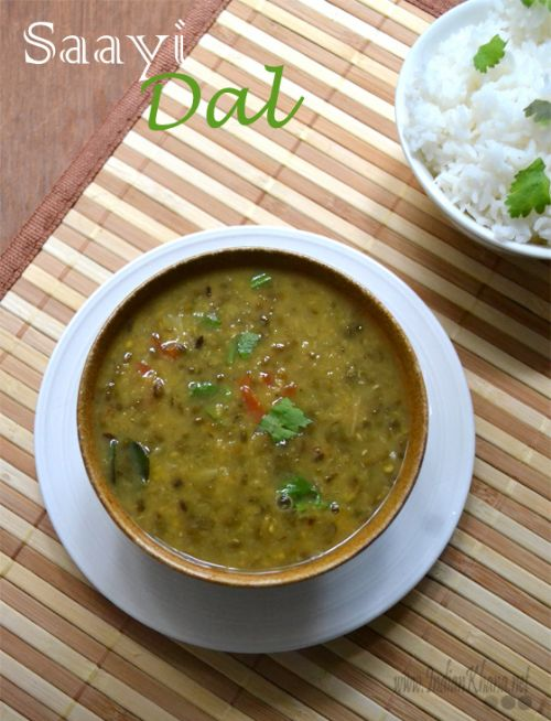 Split Green Bean (Mung) Dal