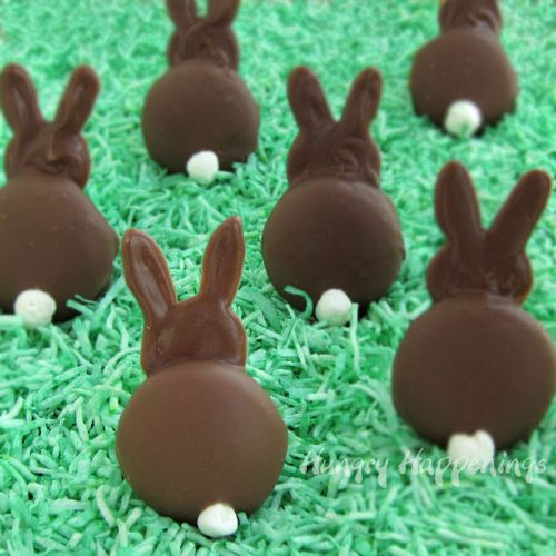 Chocolate Bunny Silhouettes