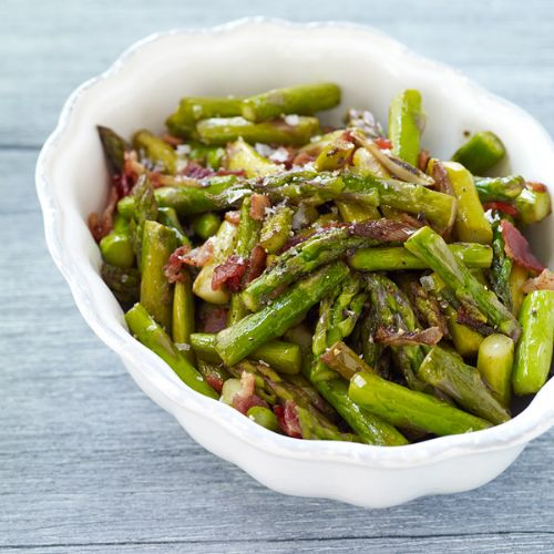 Asparagus Sauteed with Bacon
