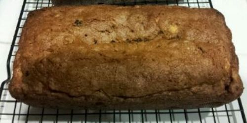 Cinnamon Apple Cranberry Bread