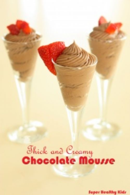 Thick and Creamy Chocolate Mousse
