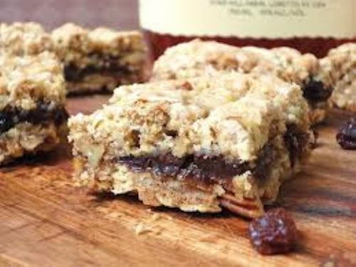 Apple Raisin Bars