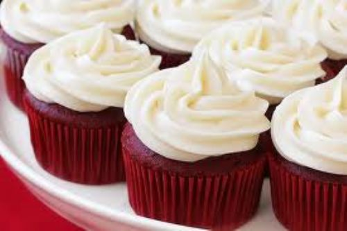 Moms Red Velvet Cup Cakes