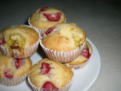 Strawberry Fields Banana Muffins Forever