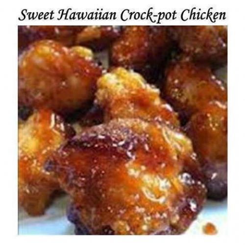 Sweet Hawaiian Crock-Pot Chicken