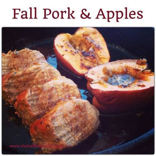FALL PORK TENDERLOIN & APPLES