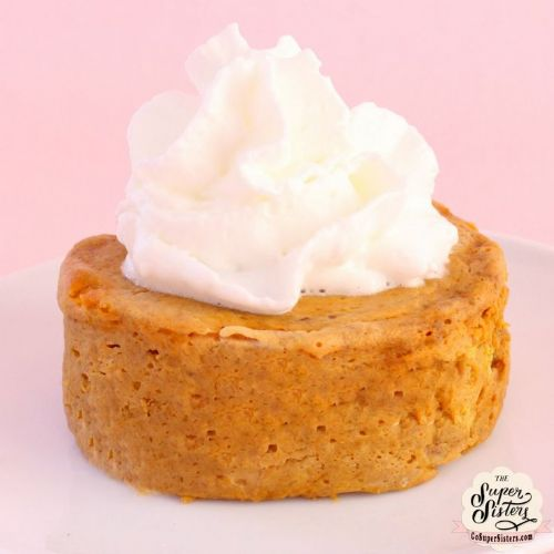 Single Serve Pumpkin Pie