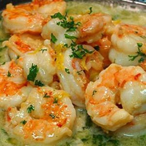 No butter Shrimp Scampi