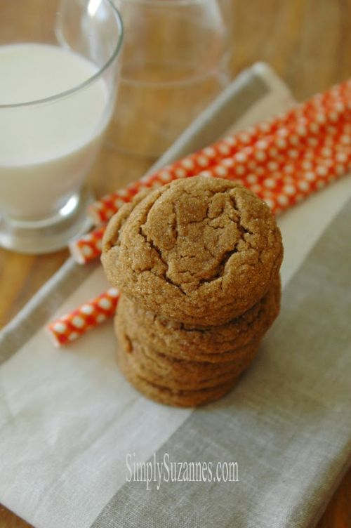 Molasses Spiced Cookies