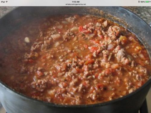 Christy's chili