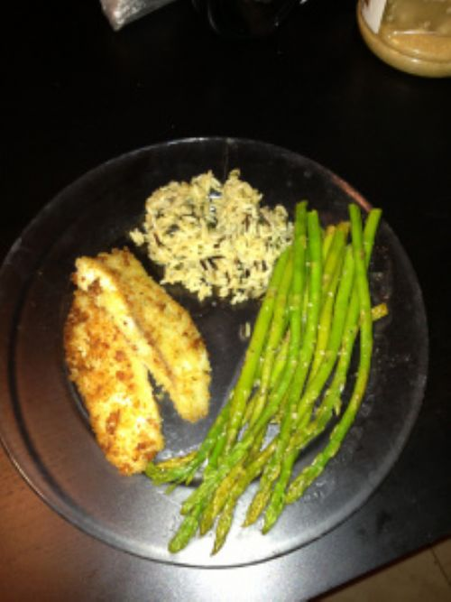 Panko Pan Fried Tilapia