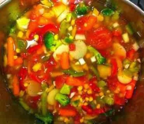 Sandy's Low Cal Vegetable Soup