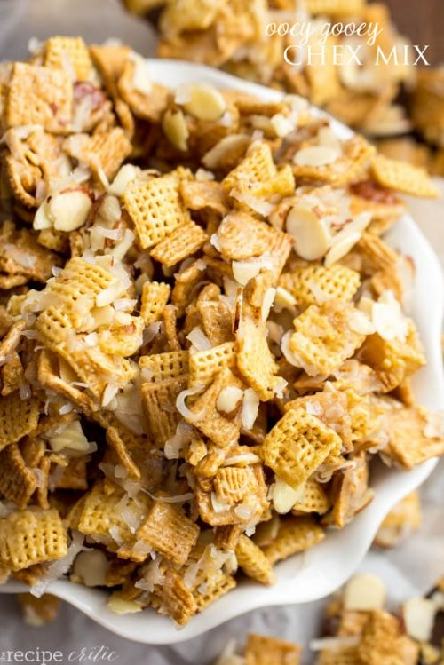 Ooey Gooey Chex Mix