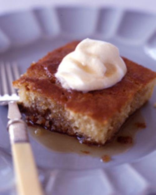 Maple Buttermilk Pudding Cake Recipe