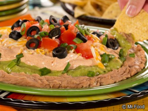 Lighter 7 Layer Dip